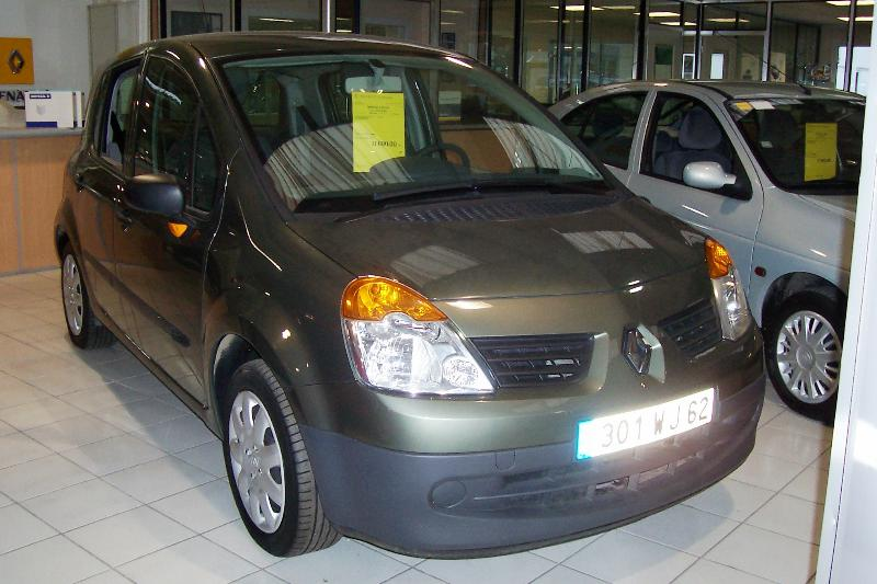 Renault - Modus 1,5 dci 65 pack authentique